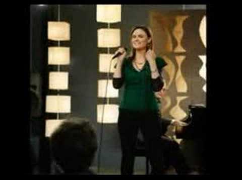 Emily Deschanel Singing