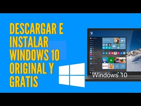 Como descargar y activar Windows 10 original y gratis