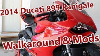 2014 Ducati 899 Panigale Walkaround & Mods