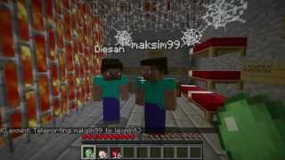 MineCraft - Jail escape - Часть 1