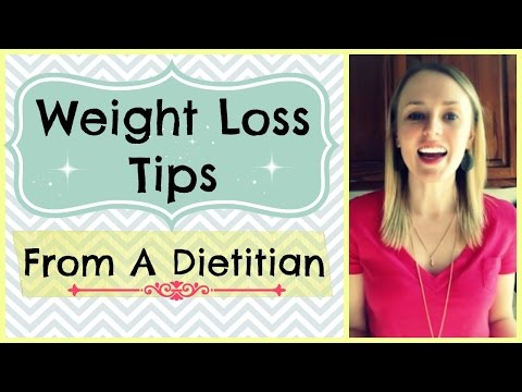 Weight Loss Tips from a Registered Dietitian // How to ...