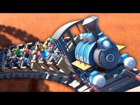 UNE NOUVELLE MONTAGNE RUSSE | Planet coaster #10