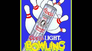 Coors Light Bowling (Incredible Technologies 1989)  Attract Mode 60fps