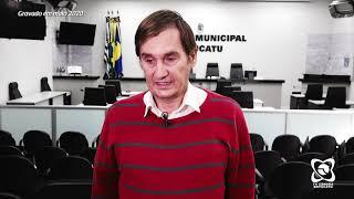 Carlos Trigo fala de três requerimentos apresentados em plenário