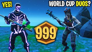 I tried out this Renegade Raider to be my World Cup Duos Partner! - (HE'S INSANE)