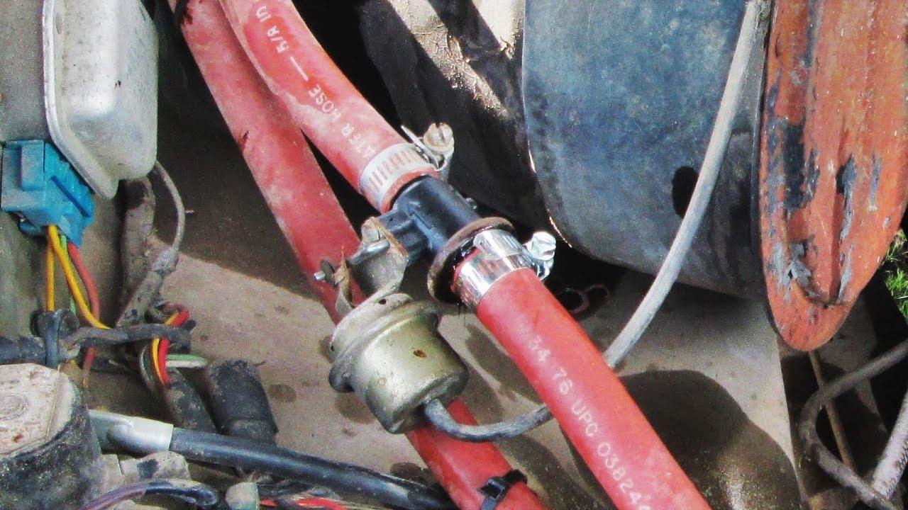 heater hose repair 1979 f150 [ 1280 x 720 Pixel ]