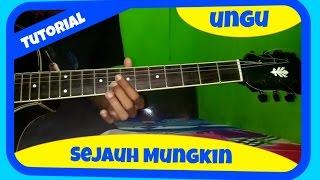 Belajar Melodi Gitar Ungu Sejauh Mungkin Mp3