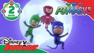 PJ Masks | Super Singing Hero Song 🎤 | Disney Junior UK