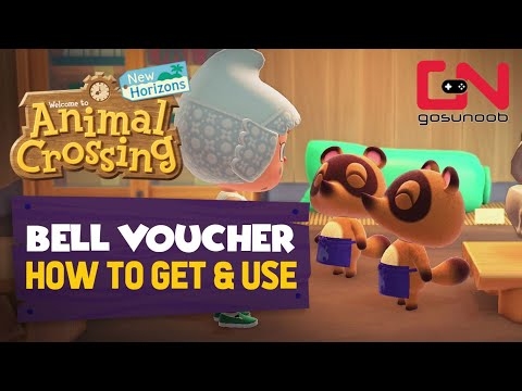 How to Get & Use Bell Vouchers – Animal Crossing New Horizons