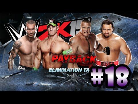 Wwe 2k15 Randy Orton vs John Cena John Cena Randy Orton vs Brock