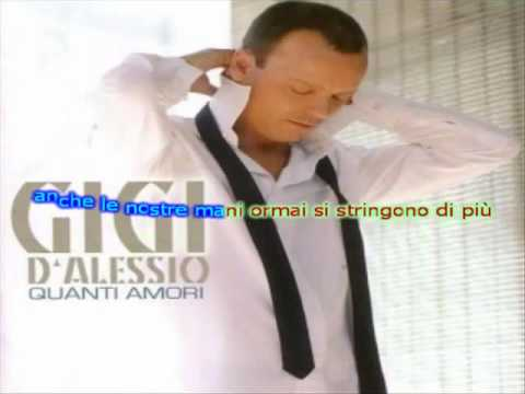 KARAOKE - Gigi D'alessio - Quanti Amori