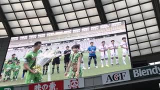 J2第22節 東京ヴェルディ vs ファジアーノ岡山 味の素スタジアムに10代...