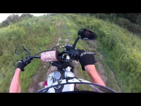 Nick Reynolds Harley wheelies