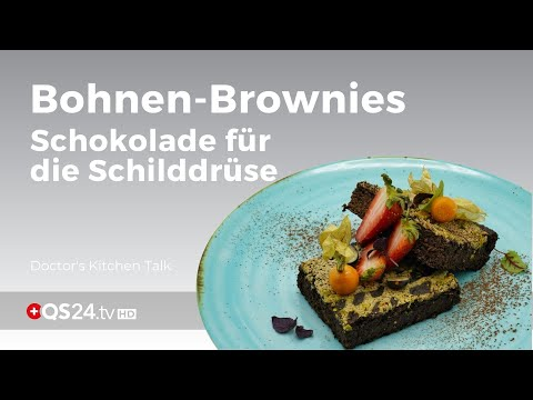 Schwarze Bohnenbrownies - Schokolade für die Schilddrüse
