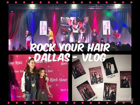 Rock your hair Dallas - Vlog