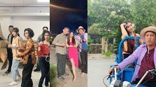 """Kha Ly: """"Chồng gửi clip gái làng chơi đánh nhau cho tôi học hỏi kinh nghiệm đóng phim"""""""