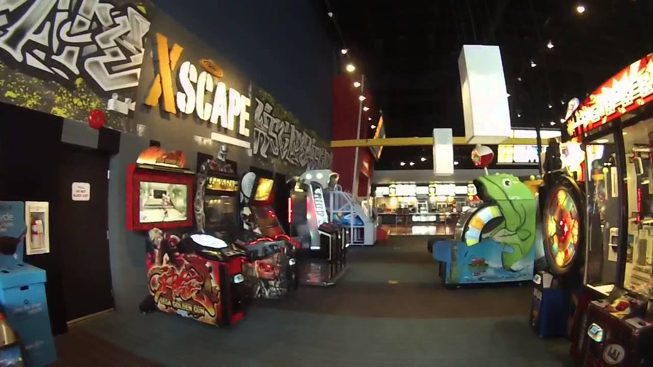 video game arcade tours silver city cinema coquitlam. Black Bedroom Furniture Sets. Home Design Ideas