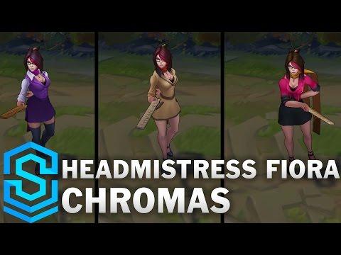 Headmistress Fiora Chroma Skins