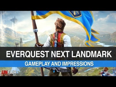 EverQuest Next Landmark – Gameplay and Impressions