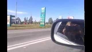 Житель Черногорска совершил жесткую аварию на трассе Абакан - Минусинск(, 2015-06-23T01:33:46.000Z)