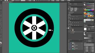 Draw car wheel in Illustrator