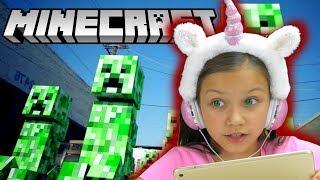 Download СПАСАЕМ КОТЯТ в Minecraft Строю 400 ЭТАЖНЫЙ Дом летсплей VIki Show Mp3 and Videos