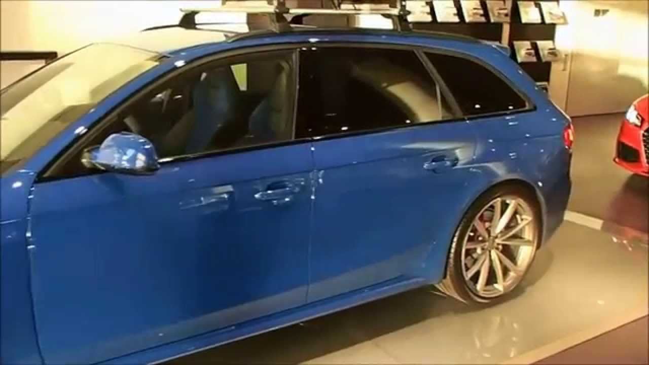 Audi RS4 Nogaro Selection - In Depth Review Interior and Exterior