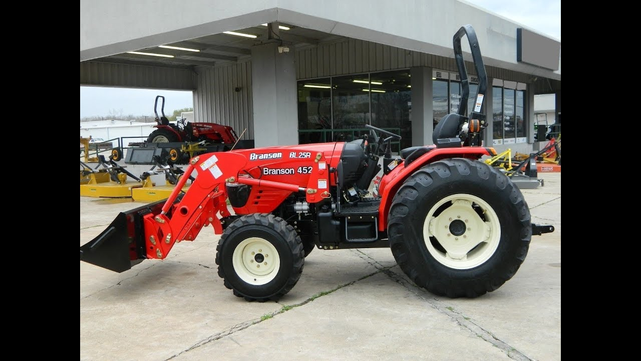 2015 Branson Tractor 4520R BL25R Front End Loader 45HP Diesel nwde by  binatani