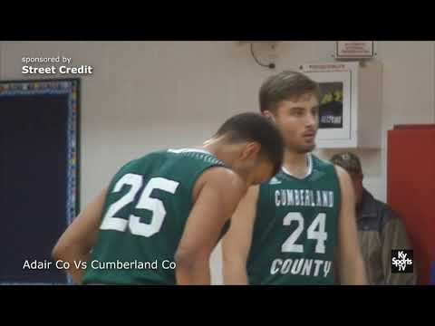 Cumberland county vs Adair County [GAME] - HS Basketball 2017-18 (2nd Half)