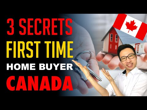 First Time Home Buyer Canada (3 Secrets)