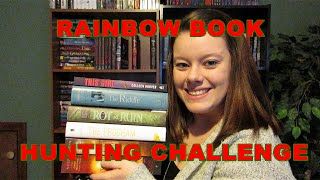 Rainbow Book Hunting Challenge! Thumbnail