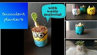 Succulent Planters DIY