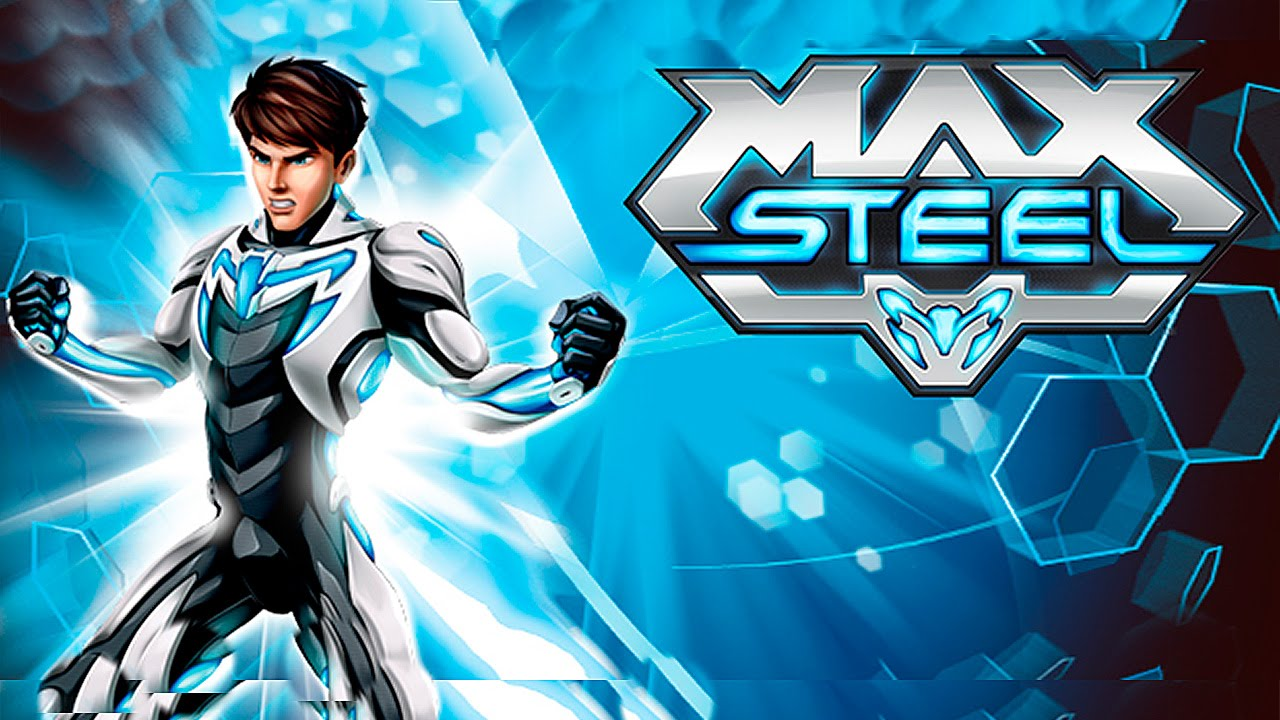 It's just a graphic of Striking Max Steel Pictures