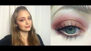 Макияж для зеленых глаз: видео-урок
