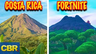 15 Fortnite Locations In Real Life (Season 8)