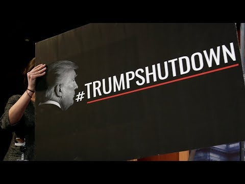 Republicans and Democrats blame each other for the US federal shutdown