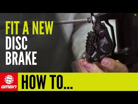 How To Fit A Disc Brake & Disc Brake Rotor | Mountain Bike Maintenance