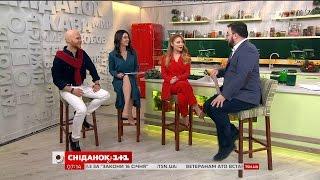 У гостях Сніданку – співачка Тіна Кароль та автор пісень Влад Дарвін