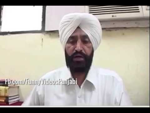 Indian Lawyer Speaking Dangerous Punjabi Mix English.:))