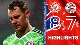 Fc bayern munich lose to holstein kiel after penalties in the 2nd round of dfb-pokal. check out highlights match including goals by serge ...