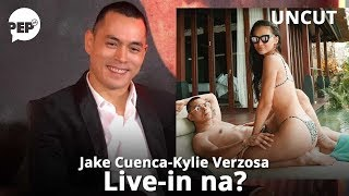 Jake Cuenca live-in na with Kylie Verzosa? | PEP Uncut | PEP EXCLUSIVE