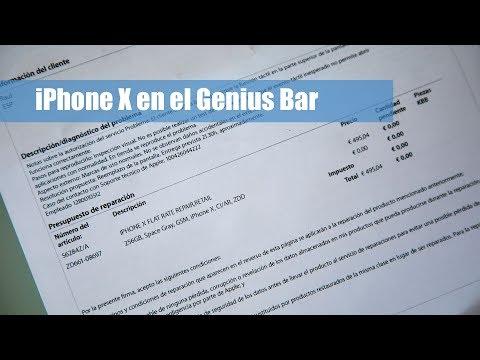 Llevamos El IPhone X Al Servicio Técnico Genius Bar De Apple