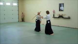 Aikido Bokken Kata 1 through 5
