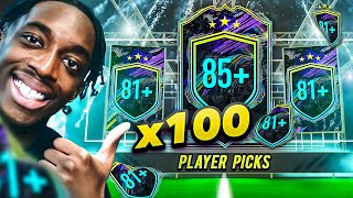WE GOT THE CRAZIEST 81+ PLAYER PICKS! BASE OR MID ICON PACKS!