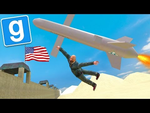 GMOD MEXICAN BORDER PATROL - How To Jump The Border!!! (Gmod Funny Moments)