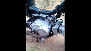 Tutorial melunturkan cat motor dengan remover atau soda api