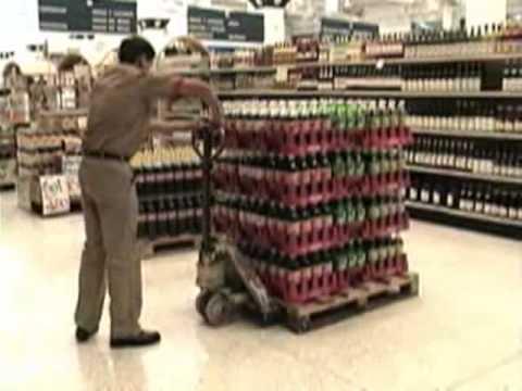 Rehrig Pacific Company - Merchandiser PET Bottle Crates Spanish ...