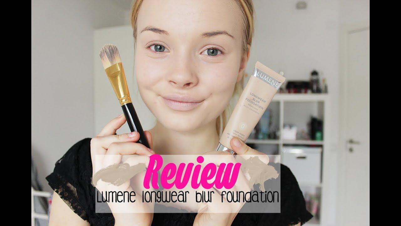 ♥Review: Lumene longwear blur foundation♥ - YouTube