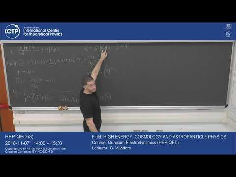 Quantum Electrodynamics (HEP-QED) 3 of 22