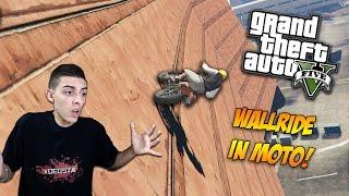 WALLRIDE CON LE MOTO? EPICO! - GTA 5 ONLINE | xDegsta